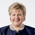 Statsminister Erna Solberg sliter med å få statsbudsjettet vedtatt i Stortinget. Foto: Thomas Haugersveen/statsministerens kontor