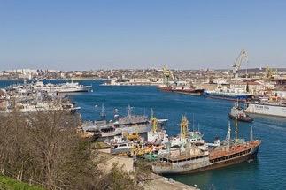 Havna i Sevastopol. Foto: A.Savin